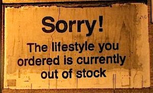 Sorry, the lifestyle ...