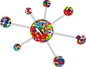 Vernetzung international